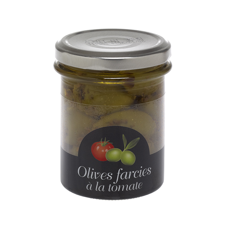 olives farcies à la tomate