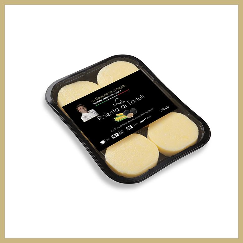 polenbta ronde à la truffe