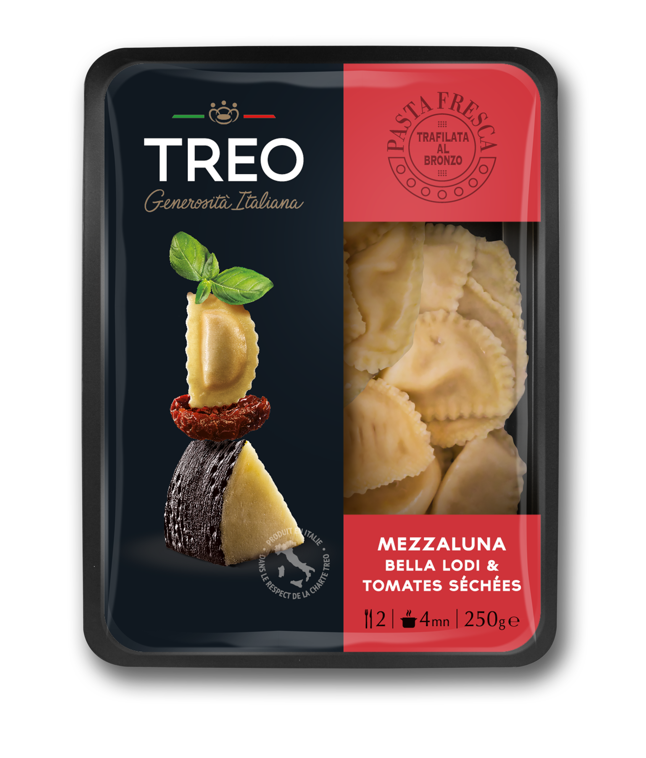 Mezzaluna Bella Lodi & tomates séchées