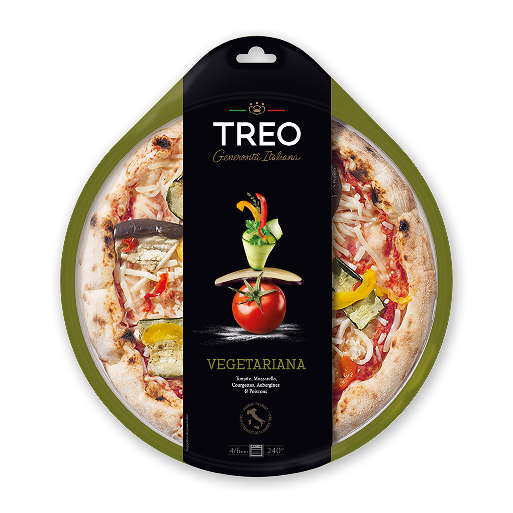 Pizza vegétariana