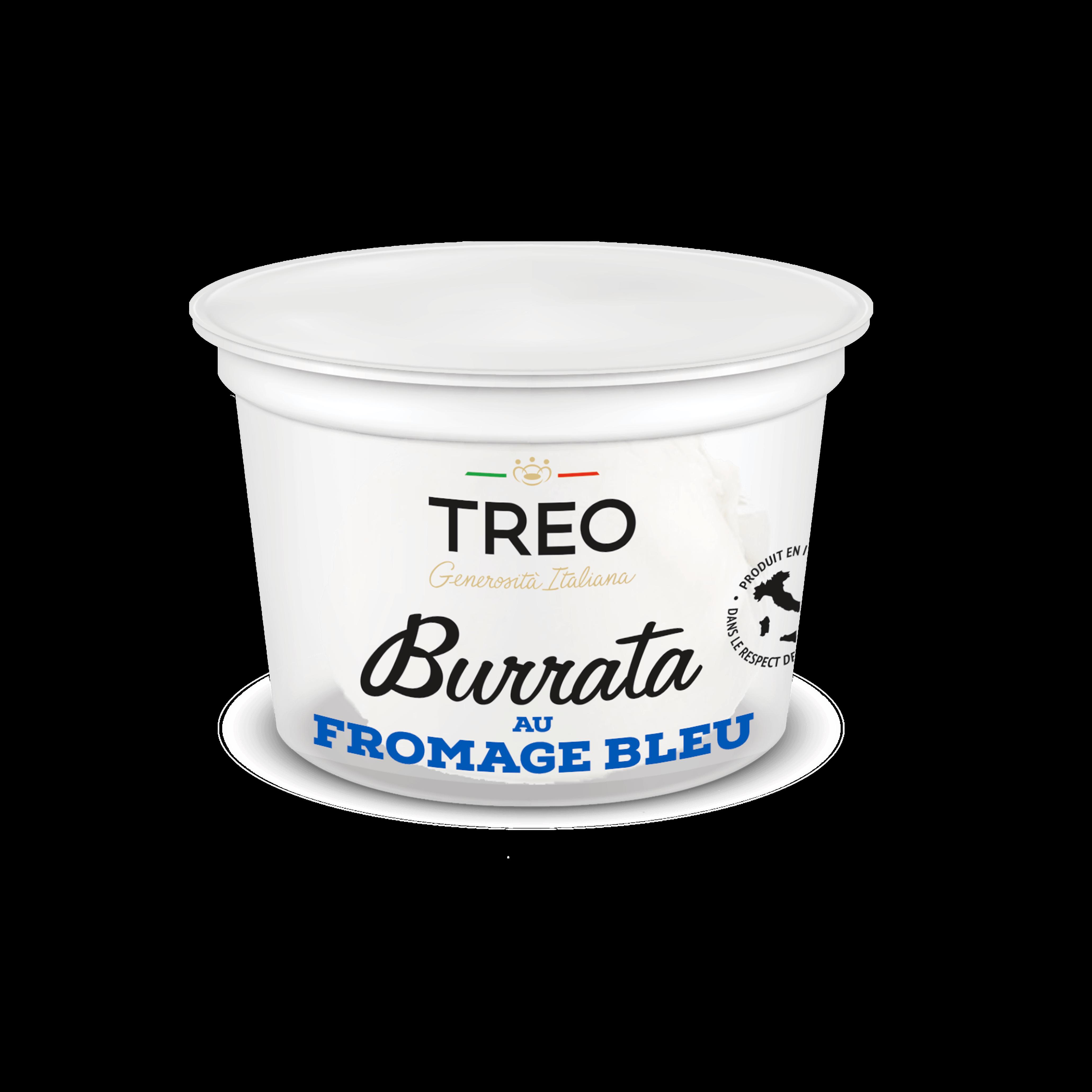 Burrata bleu