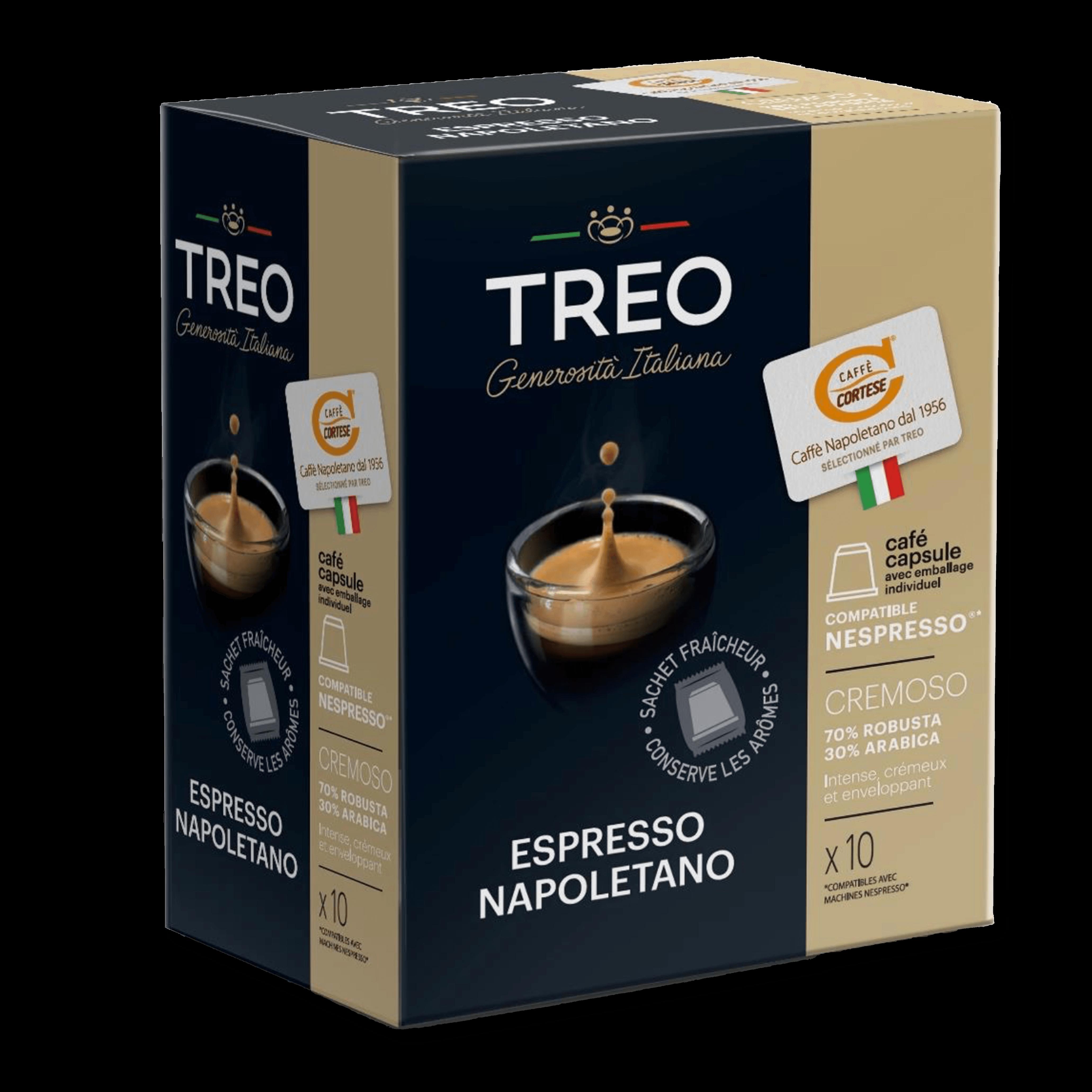 CAFÉ capsule nespresso cremoso