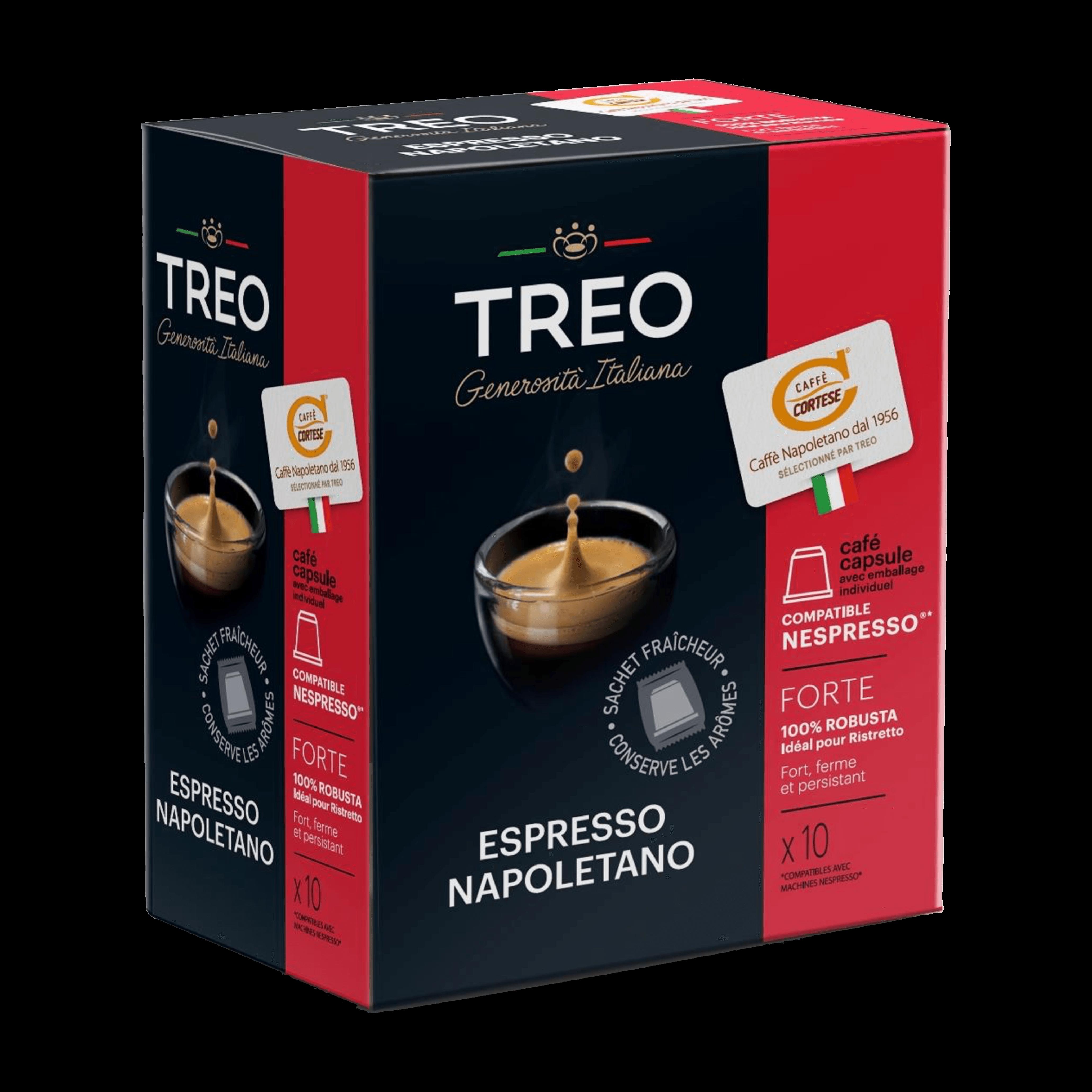 CAFÉ capsule nespresso forte