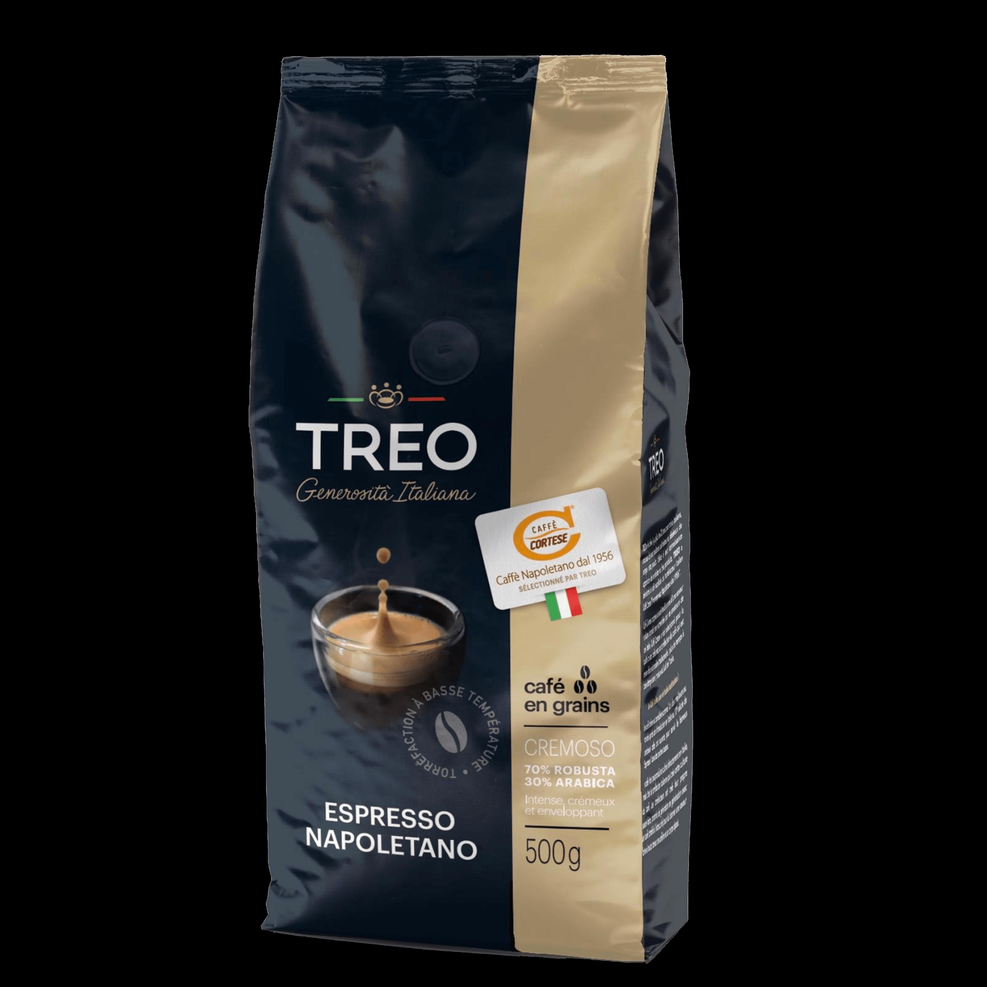 Café grain cremoso